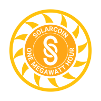 SolarCoin (SLR) logo